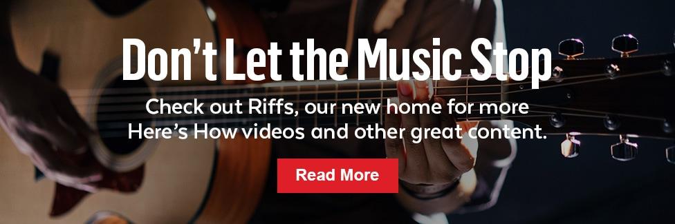 Guitar Center Riffs