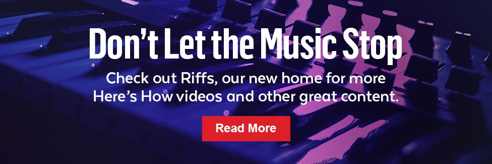Read more articles at Guitar Center Riffs