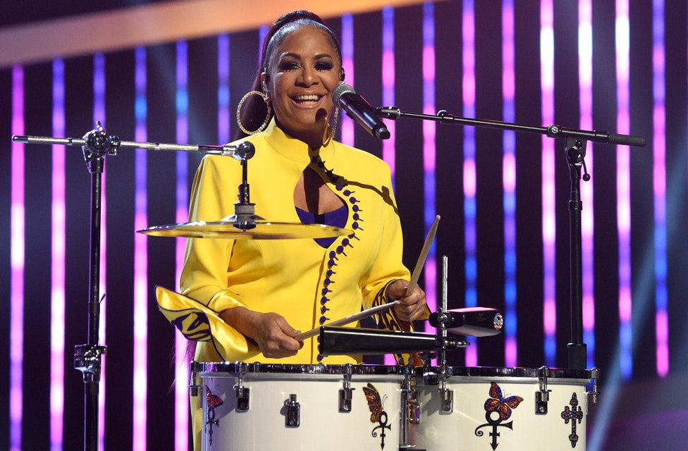 "Sheila E performs at ""Let's Go Crazy"" Prince Tribute - Courtesy of the Recording Academy®/ Getty Images © 2020"
