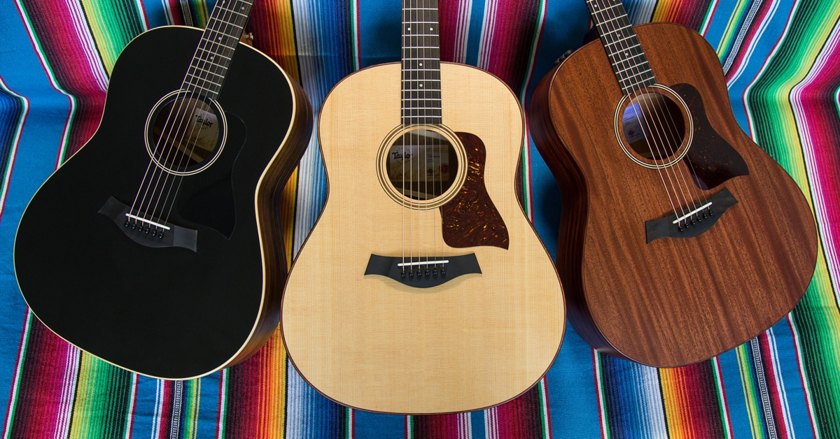 Introducing the Taylor American Dream Acoustic Guitar Series