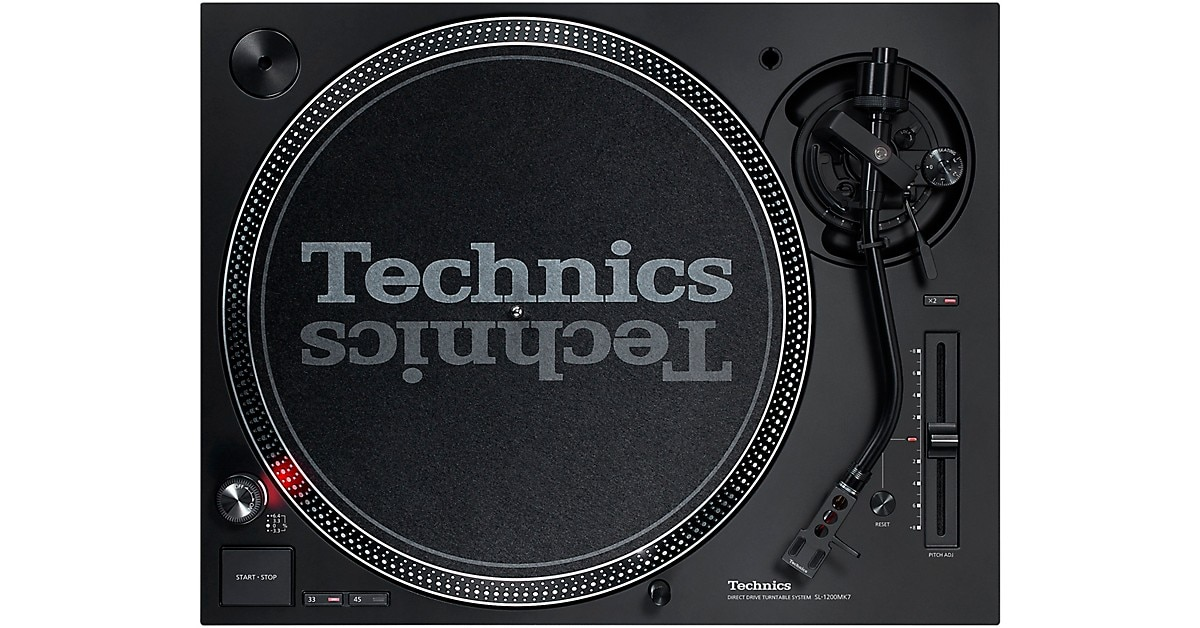 Technics SL-1200MK7 Direct-Drive Professional DJ Turntable