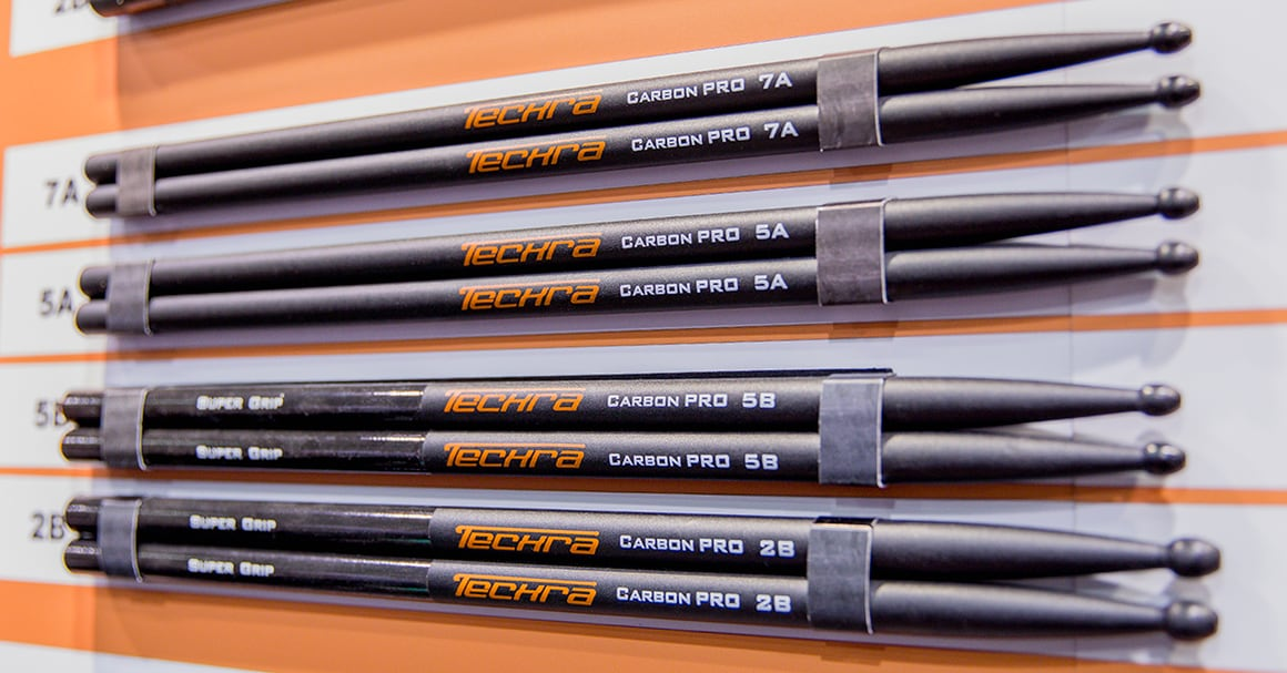Techra Carbon Drumsticks