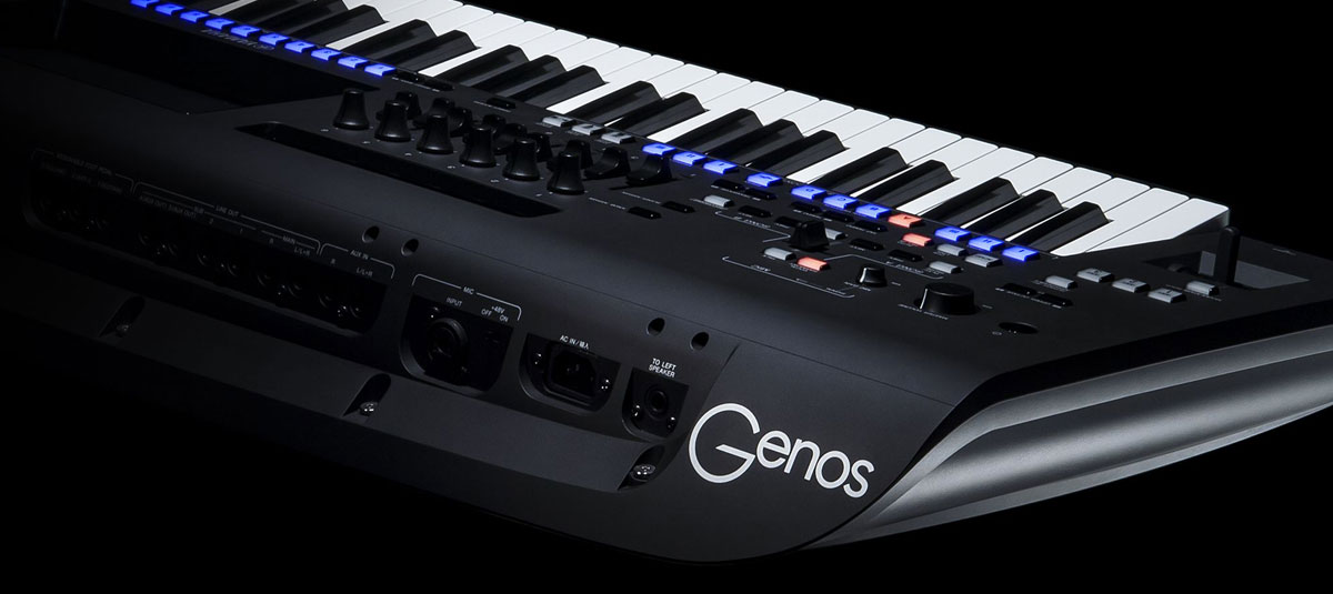 Yamaha GENOS 76-key Flagship Arranger Workstation