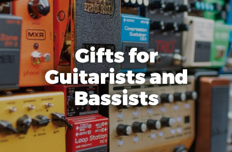 Gifts for guitarists and basists