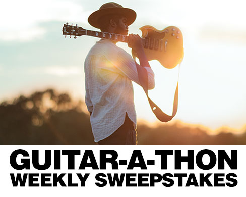Guitar A Thon Weekly Sweepstakes