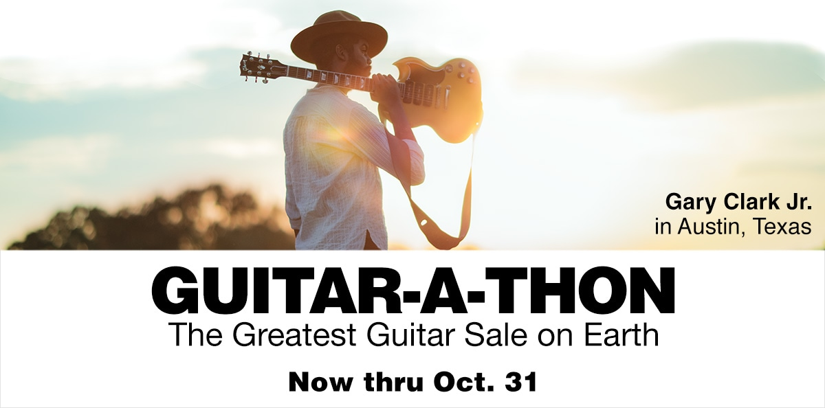 Guitar-A-Thon, the greatest guitar sale on earth.