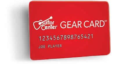 guitar center credit card special offers guitar center. Black Bedroom Furniture Sets. Home Design Ideas