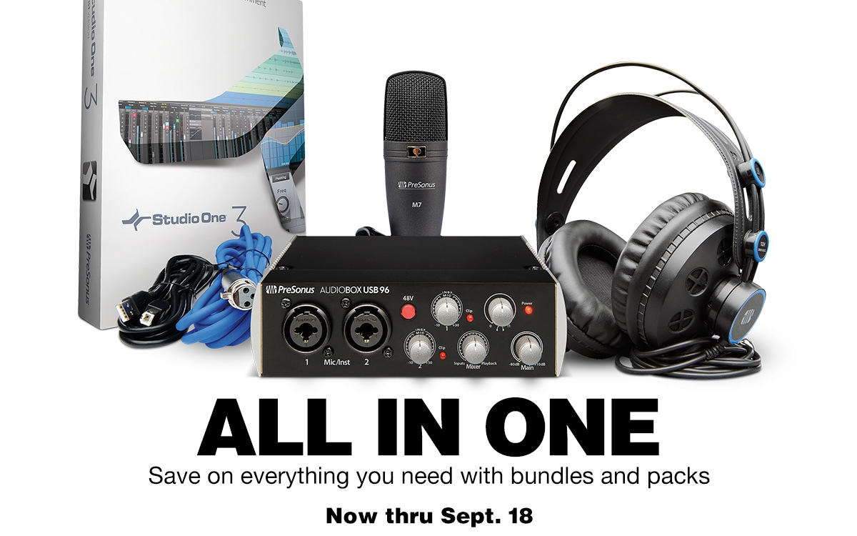All in one. Save on everything you need with bundles and packs. Now thru Sept. 18