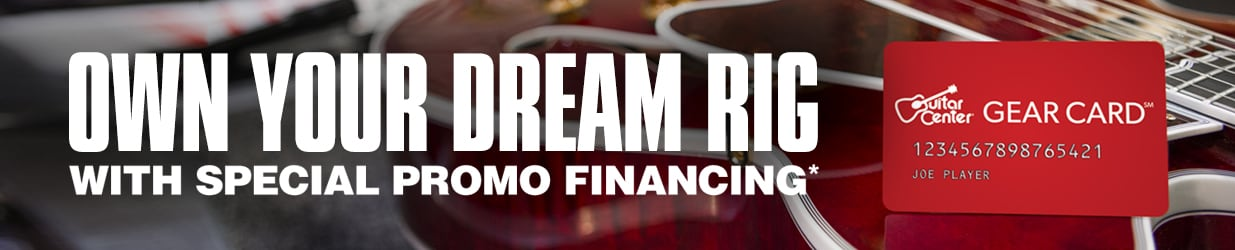 Own your dream RIG with special promo financing.