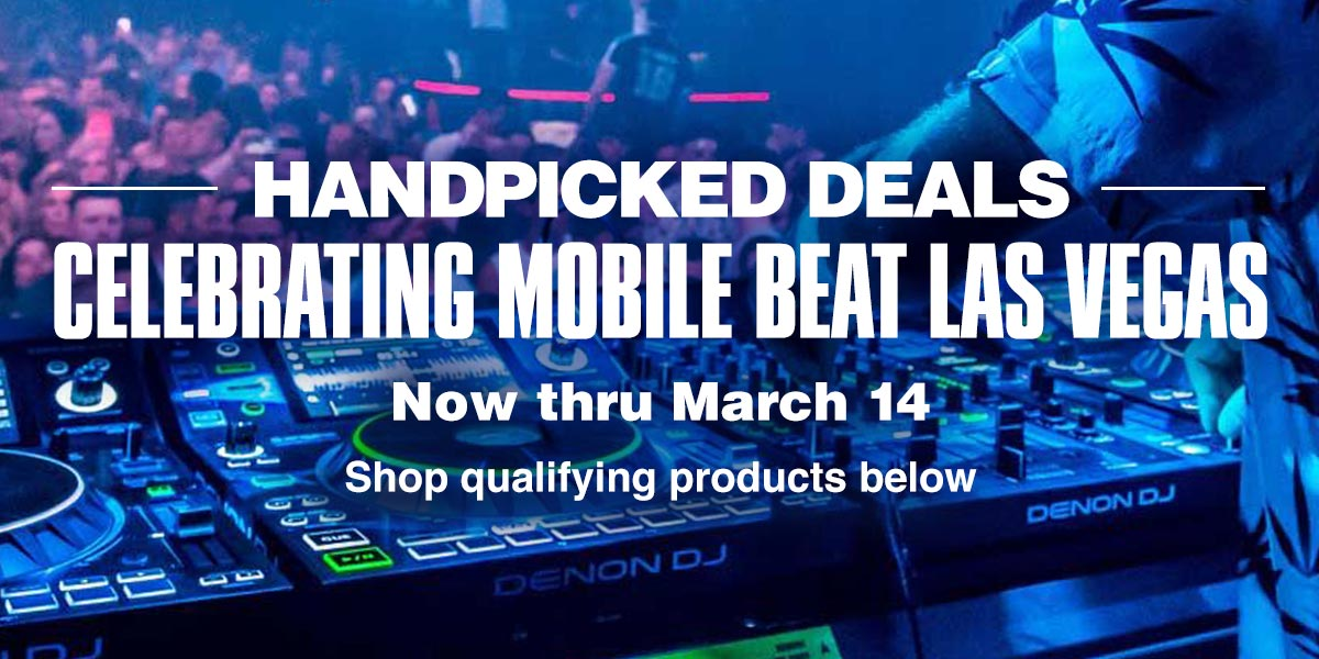 Handpicked Deals. Celebrating Mobile Beat Las Vegas. Now thru March 14. Shop Qualifying Products Below.