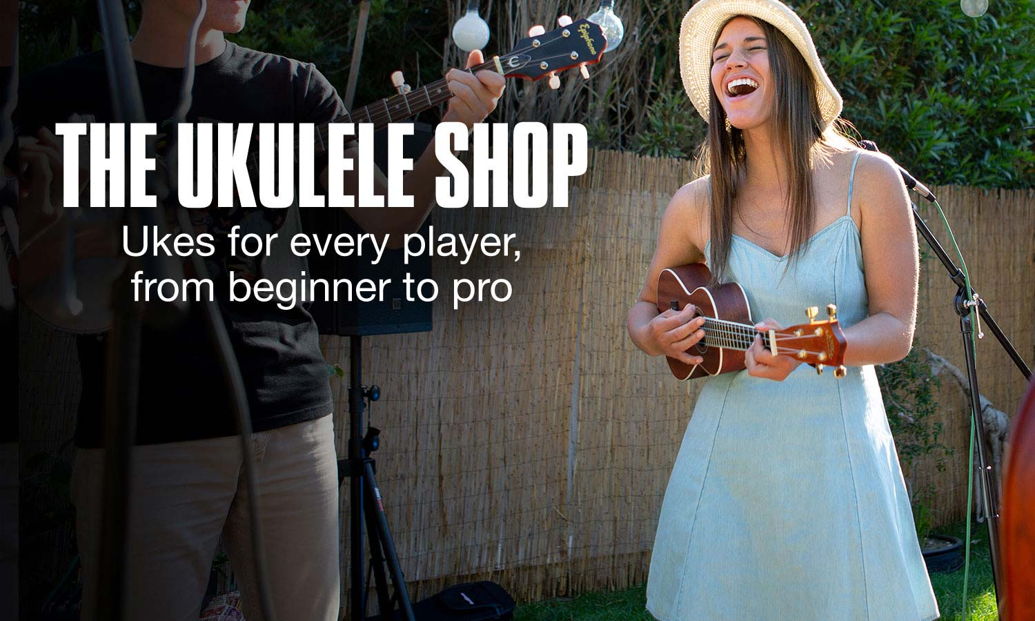 The Ukulele Shop. Ukes for every player, from beginner to pro.