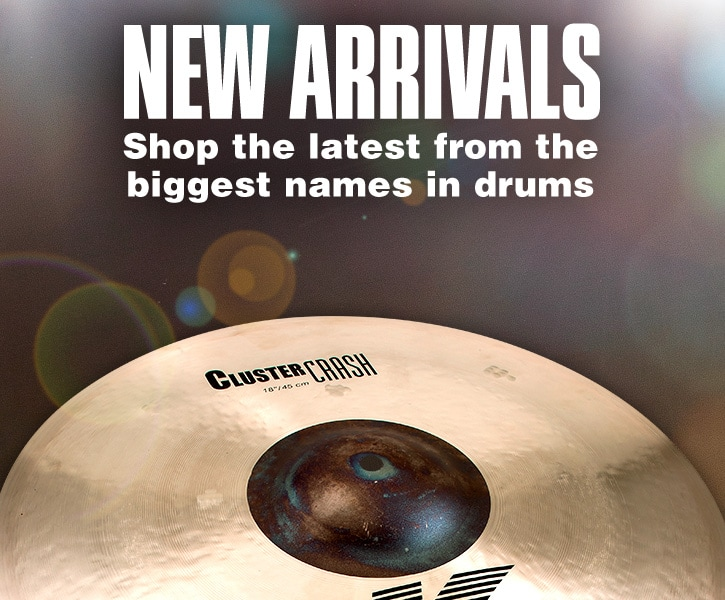 new arrivals, shop the latest form the biggest names in drums
