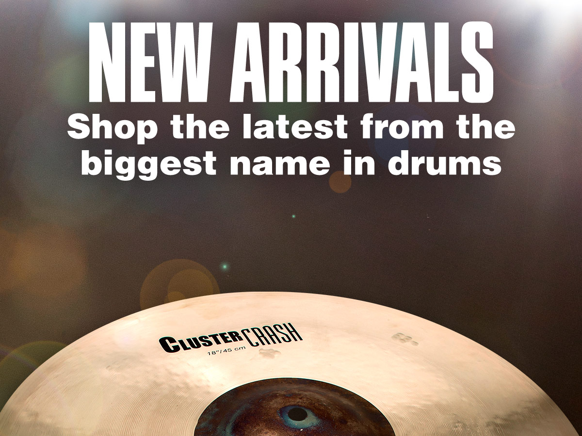 New arrivals, Shop the latest gear during our biggest drum event.