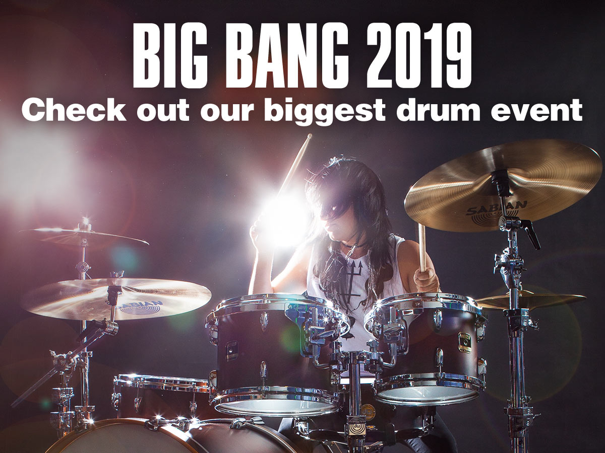 Big Bang 2019, check out our biggest drum event.