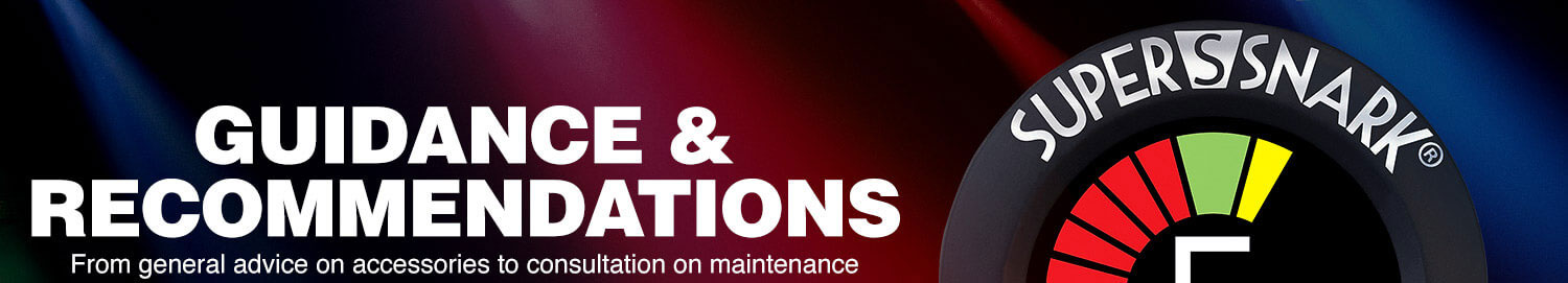 Guidance and recommendations. From general advice on accessories to consultation on maintenance