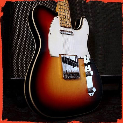 Fender Eric Clapton Blind Faith Telecaster By Todd Krause