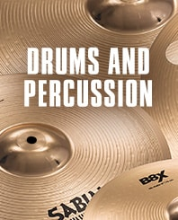 Drums and Percussion.