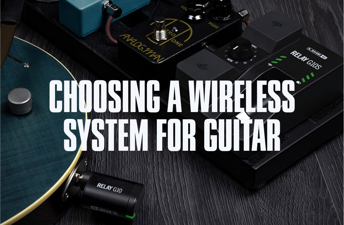 Choosing a wireless system for guitar.