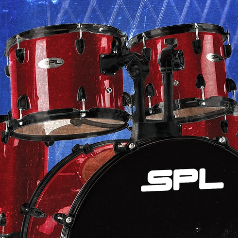 Sound Percusion Labs Unity 5-Piece Drum Set with Hardware, Cymbals and Throne