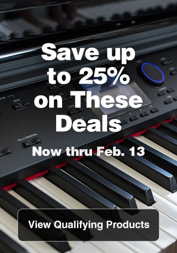 Save up to 25% on these deals,  now thru Feb. 13