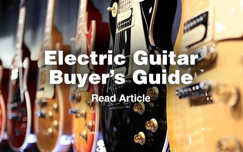electric guitar buying guide, read article