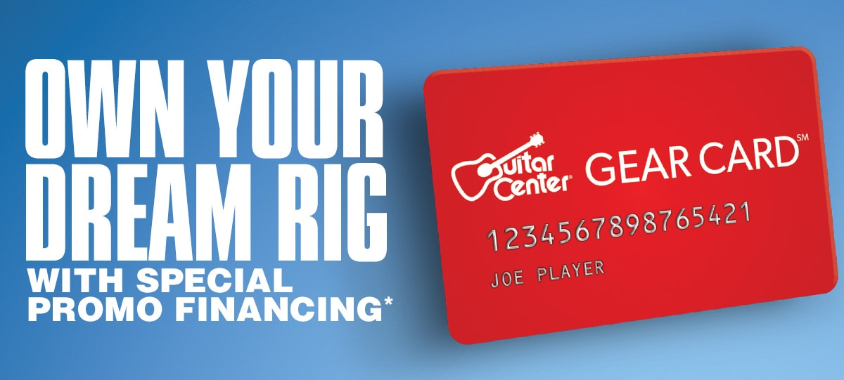 Own your dream rig with special promo financing asterisk.