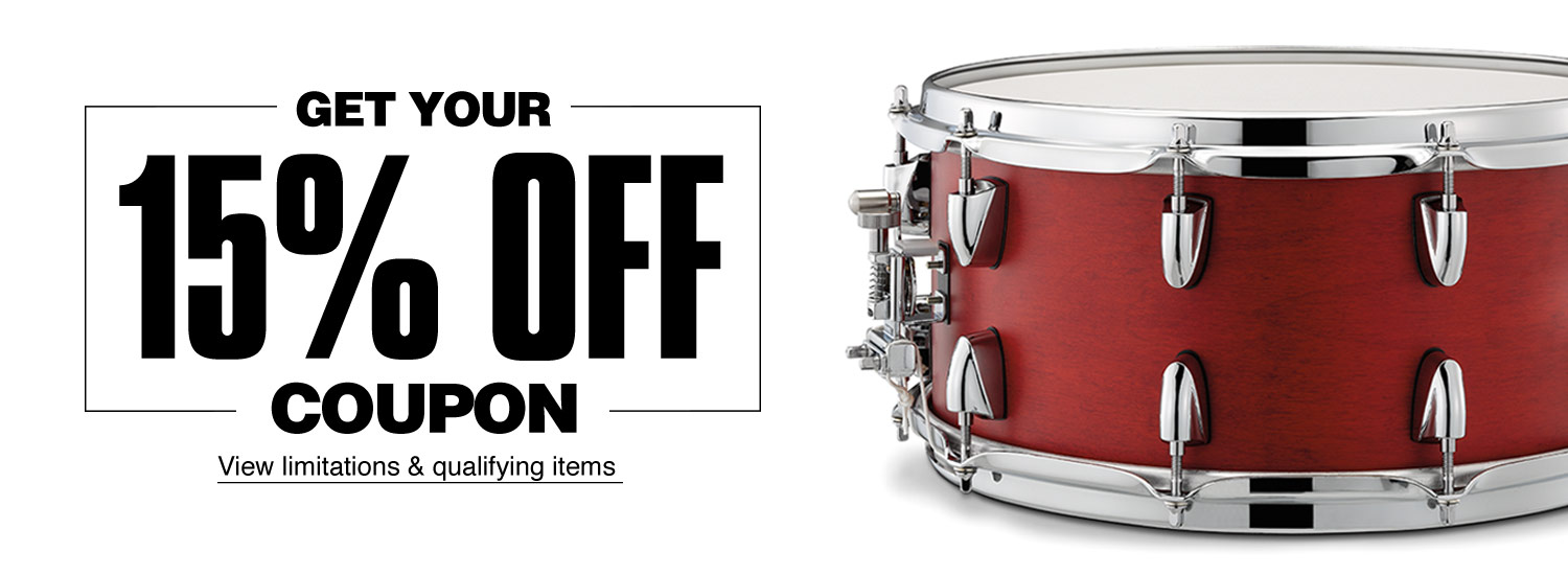 Get your 15 percent off coupon, view limitations and qualifying items