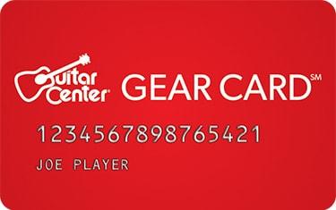 guitar center credit card special offers guitar center