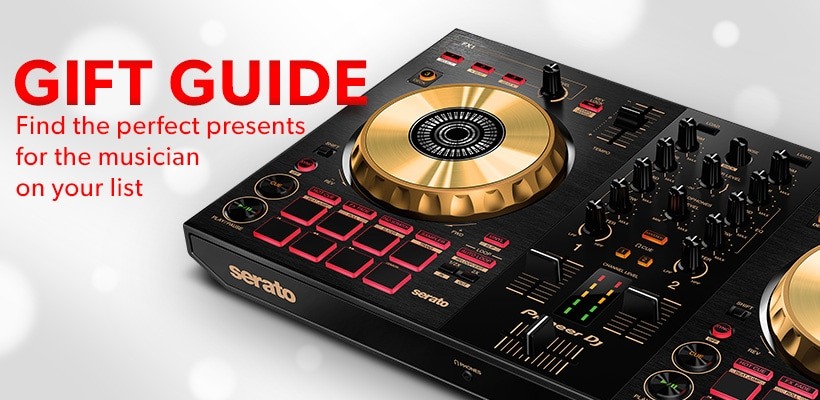 Gift guide. Find the perfect presents for the musician on your list.