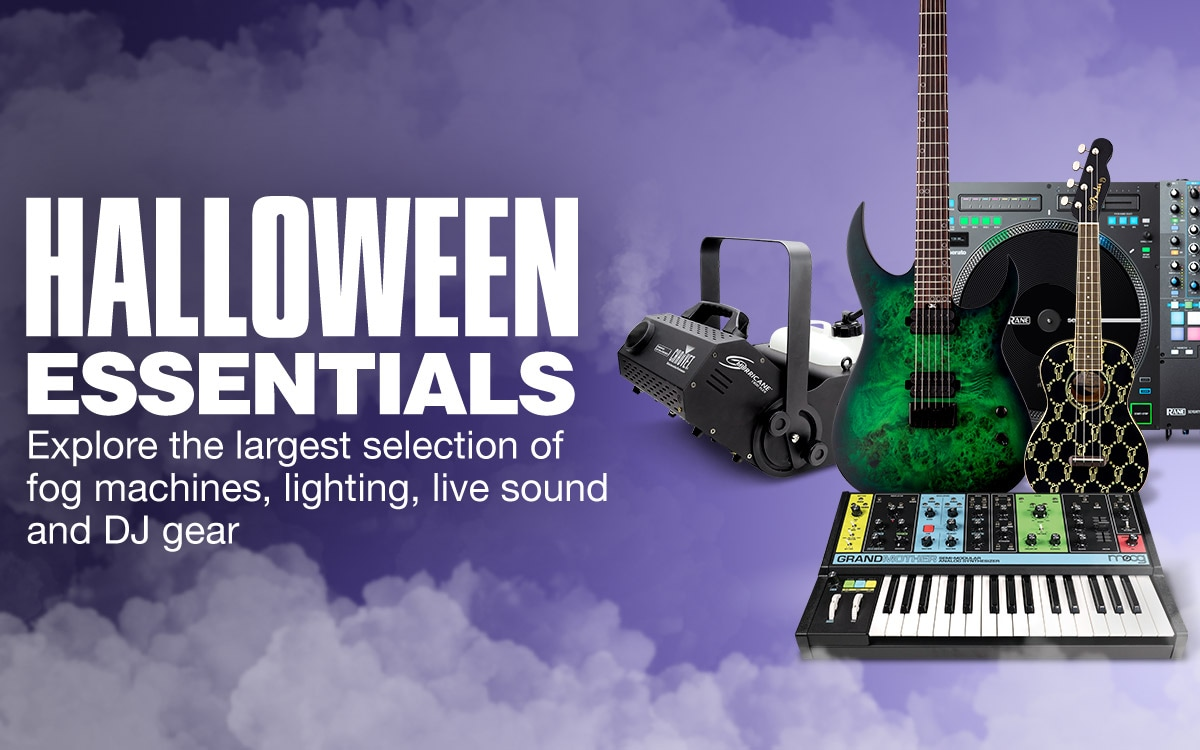 Halloween Essentials. Explorer the largest selection of fog machines, lighting, live sound and DJ gear.
