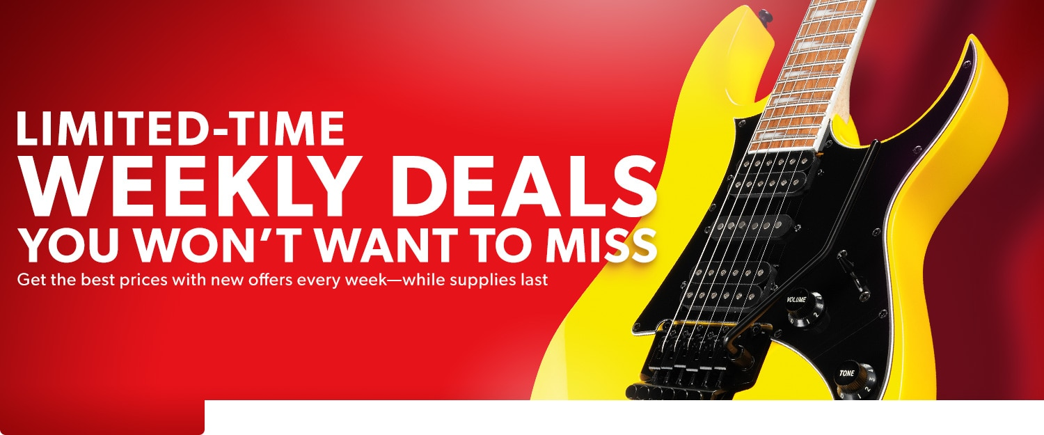 Limited time weekly deals you won't want to miss. Get the best prices with new offers every week. While supplies last.