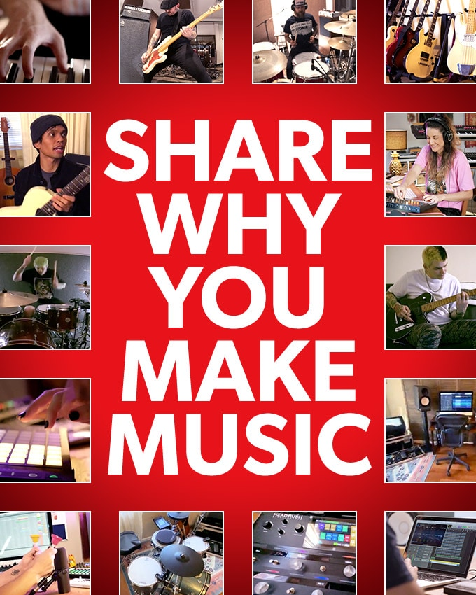 Share why you make music.