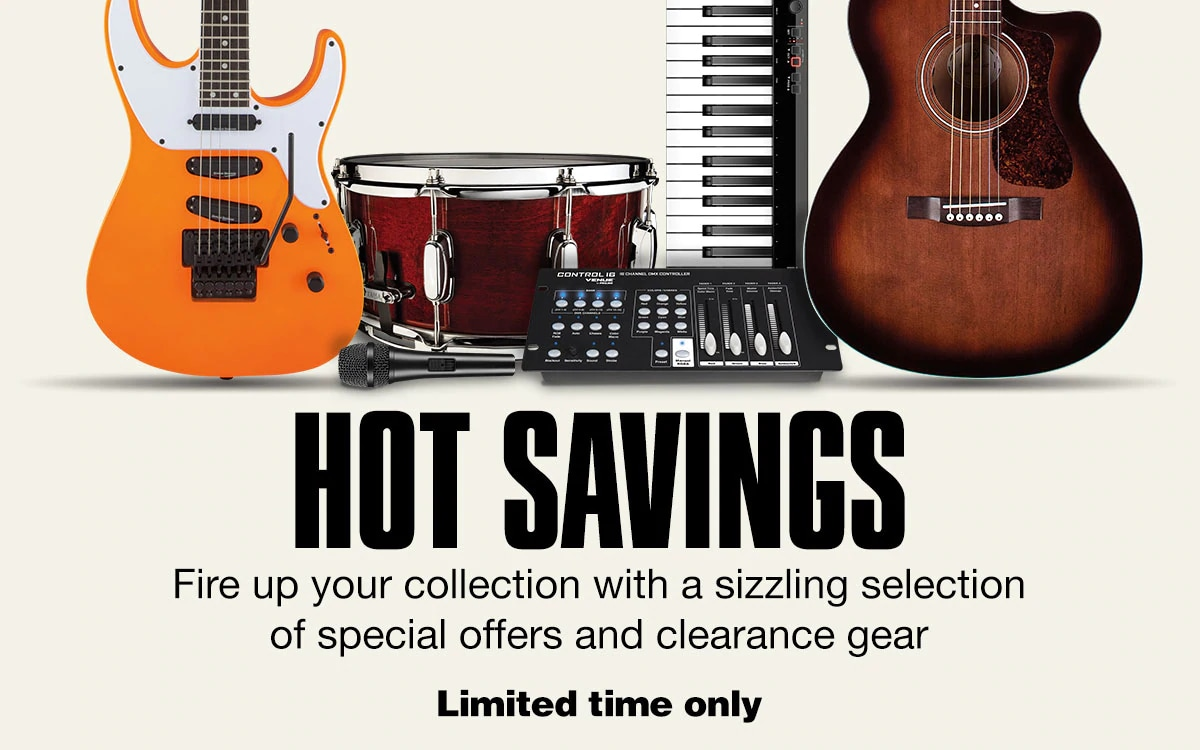 Fire up your collection with a sizzling selection of special offers and clearance gear. Limited Time Only.