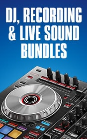 DJ, Recording and Live Sound Bundles