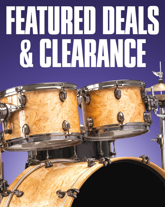Featured Deals and Clearance.