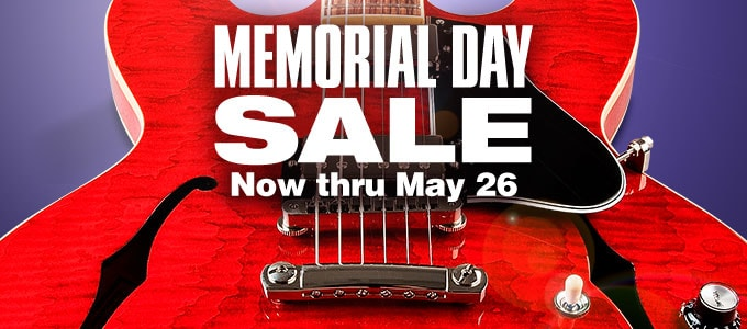 Memorial Day Sale. Now thru May 26.