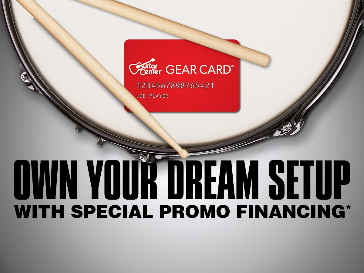 Own your dream setup with special promo financing*