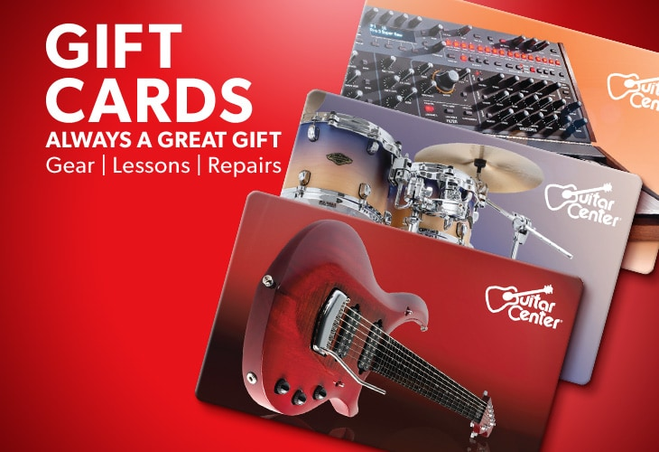 Gift cards always a great gift. Gear | Lessons | Repairs.