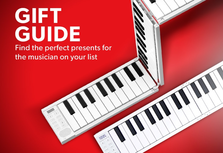 Gift guide, find the perfect persents for the musician on your list