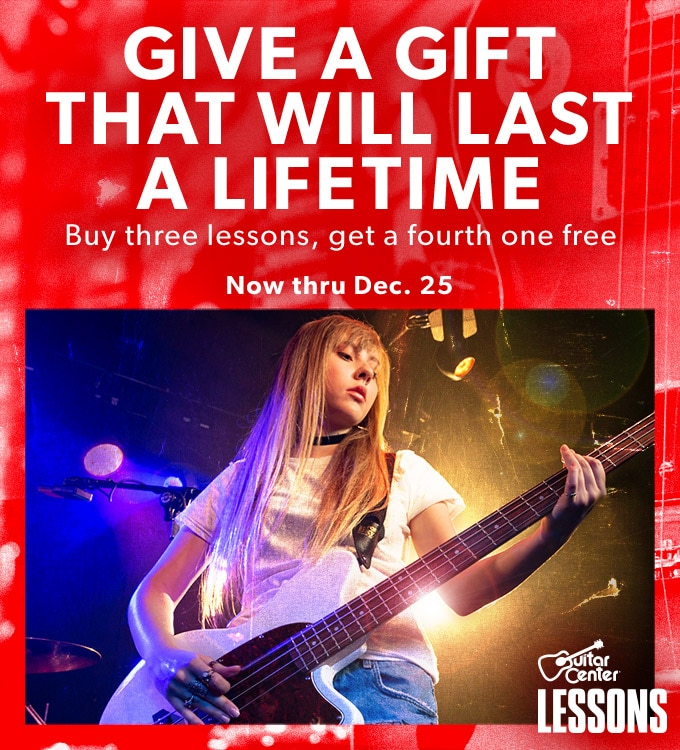 Give a gift that will last a lifetime. Buy three lessons, get a fourth one free. Now thru Dec. 25
