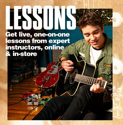 Lessons. Get live, one-on-one lessons from expert instructors, online and in-store