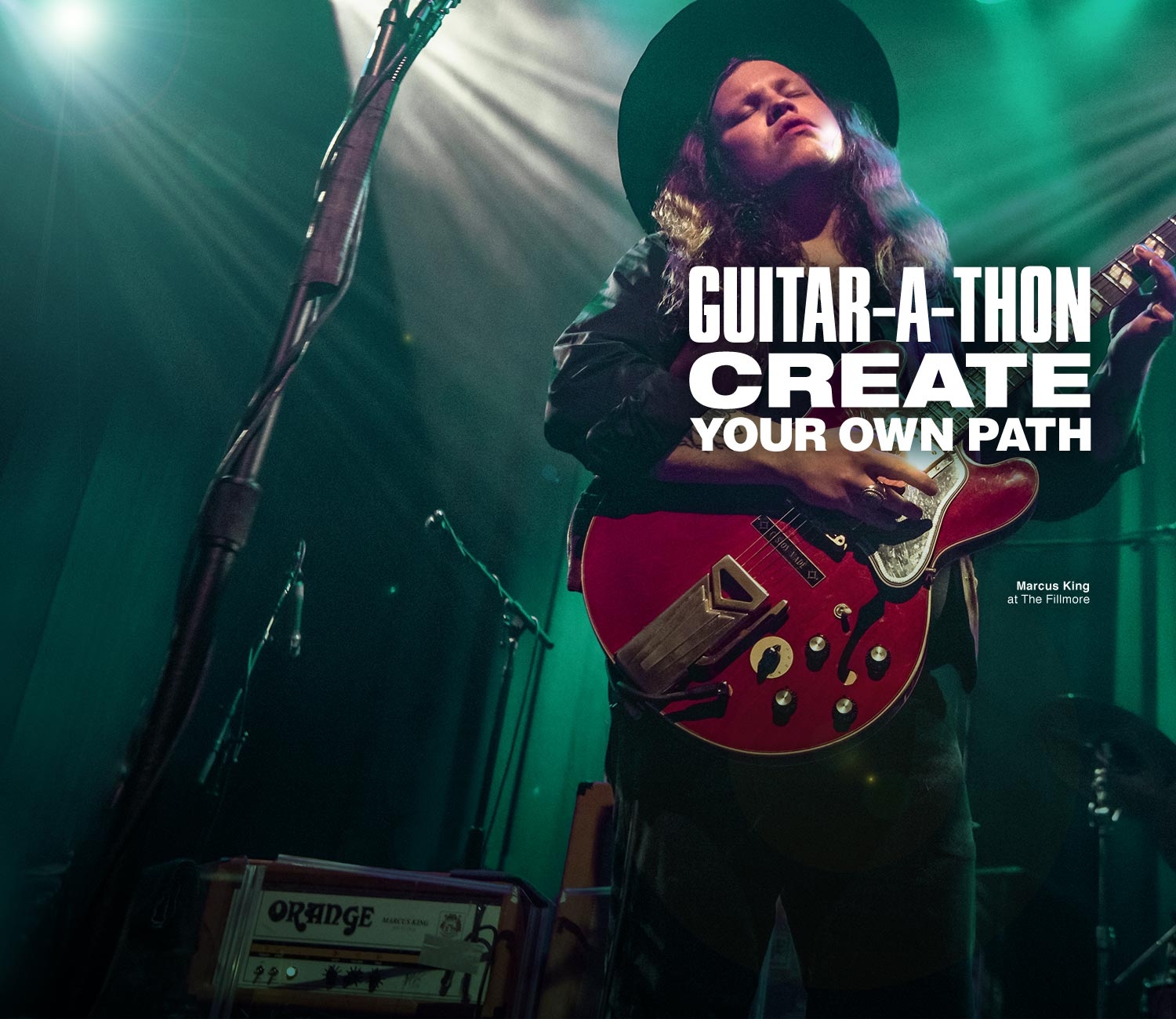 Guitar-A-Thon. Create your own path.