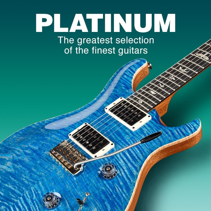 Platinum, the greatest selection of the finest guitars