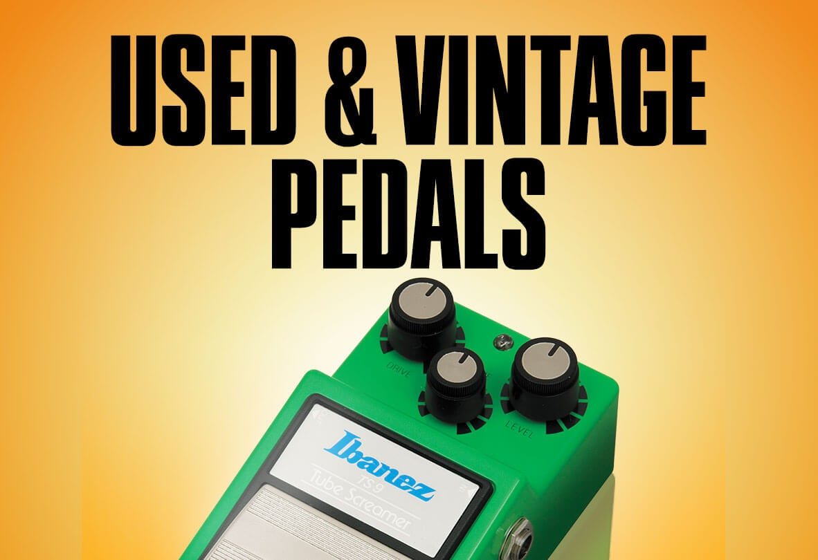 Used and vintage pedals.