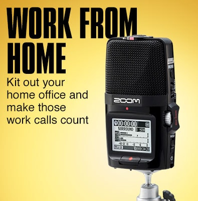 Work from home. Kit out your home office and make those work calls count.
