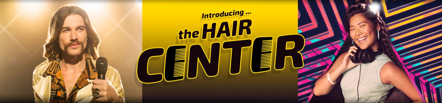 Introducing ... The Hair Center.