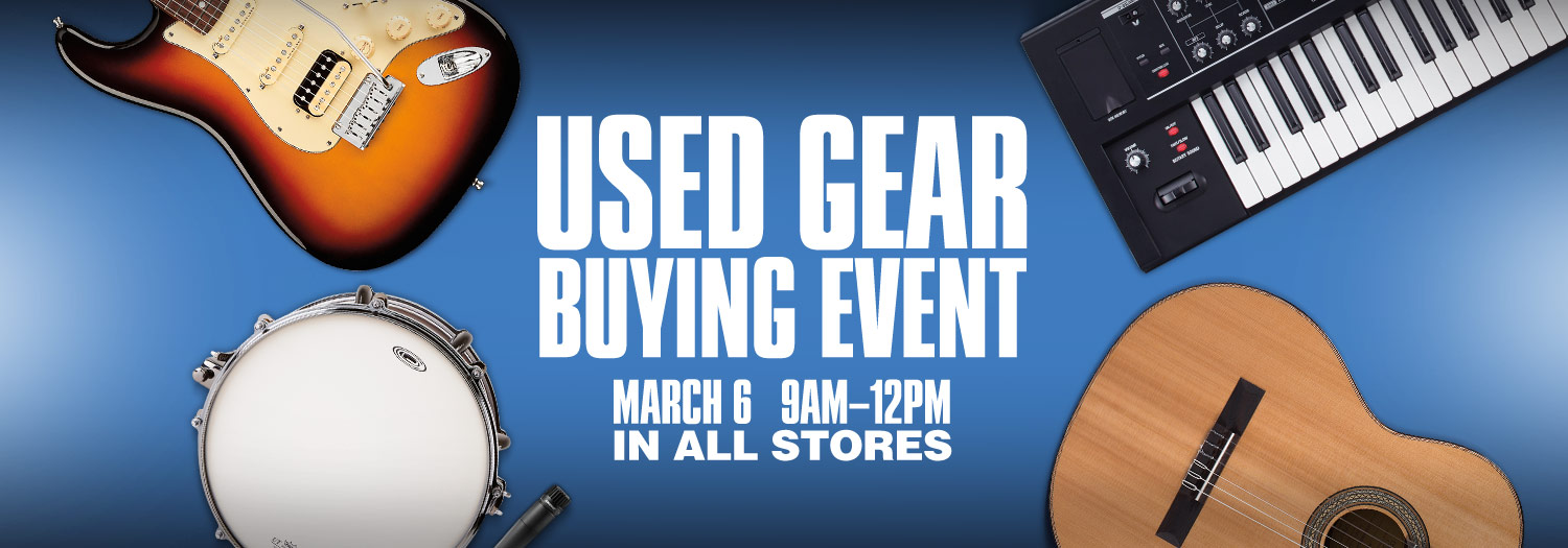 Trade In Trade Up Save 10 percent on something new when you trade in used or vintage gear for trade credit. View exclusions and limitations