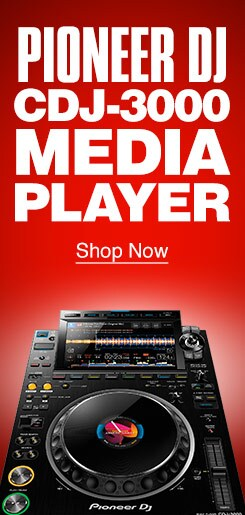 Pioneer DJ CDJ-3000 Media Player. Shop Now