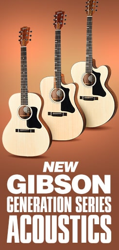New Gibson Generation Series Acoustics.