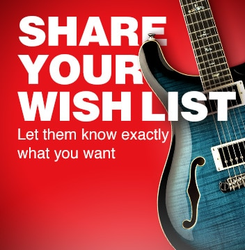 Share your wish list, let them know exactly what you want